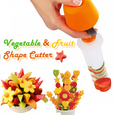 Trendy Vegetable & Fruit Shape Cutter