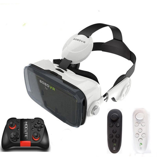 Virtual Reality 3D Headset and Bluetooth Controller