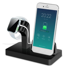 Portable 2 in 1 Charging Docking Station for iPhone x