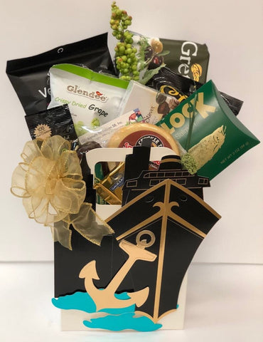 gourmet gift baskets, snack gift baskets, unique gift baskets, travel gifts,