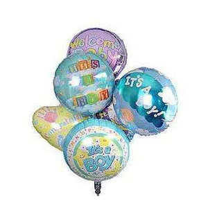 Baby Balloons-3 Options - Gift Baskets By Design SB, Inc.