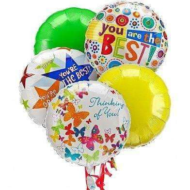 Thinking Of you Balloons 4-Sizes - Gift Baskets By Design SB, Inc.