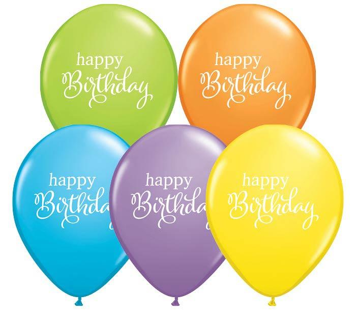 Birthday Balloons -3 Sizes **New - Gift Baskets By Design SB, Inc.