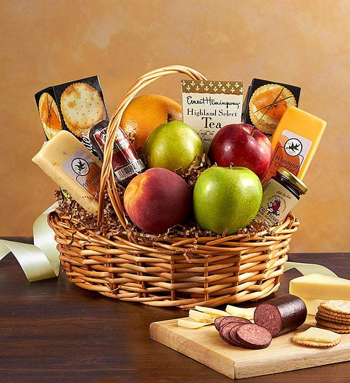Sweet Fruit & Treats -New - Gift Baskets By Design SB, Inc.