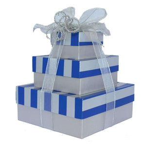 Exquisite Tower Treats-2 Option - Gift Baskets By Design SB, Inc.