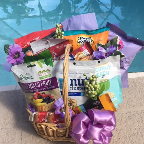 Vegan & Gluten Free-3 Options - Gift Baskets By Design SB