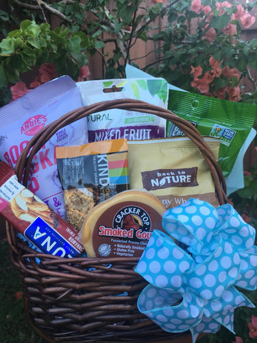 Vegan-Gluten Snack Pack - Gift Baskets By Design SB