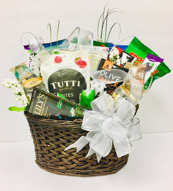 Vegan  & Gluten Free Deluxe - Gift Baskets By Design SB