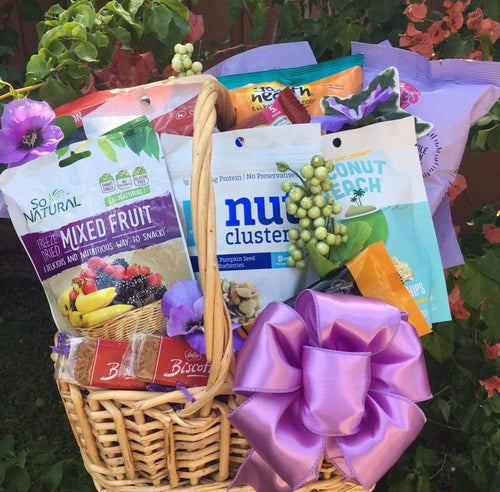 Vegan & Gluten- Dairy Free-4 Options - Gift Baskets By Design SB, Inc.