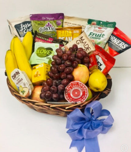 GF / Vegan Fruit Deluxe-3 Option **New - Gift Baskets By Design SB, Inc.
