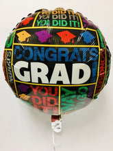 Graduation Balloons 4-Sizes - Gift Baskets By Design SB, Inc.