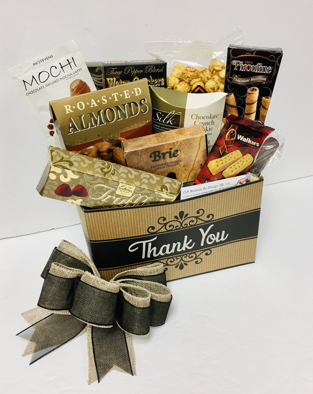 Thank you Gourmet *New - Gift Baskets By Design SB, Inc.