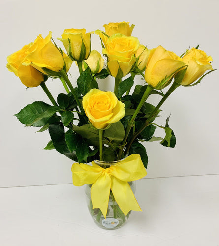 1 Doz-Roses-4 Colors Offered - Gift Baskets By Design SB, Inc.