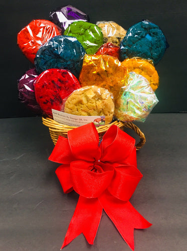 Cookies in Bloom & Coffee - Gift Baskets By Design SB, Inc.