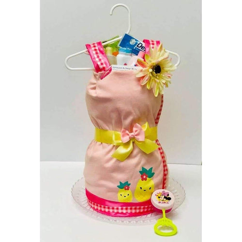 Diaper Baby Dress - Gift Baskets By Design SB, Inc.