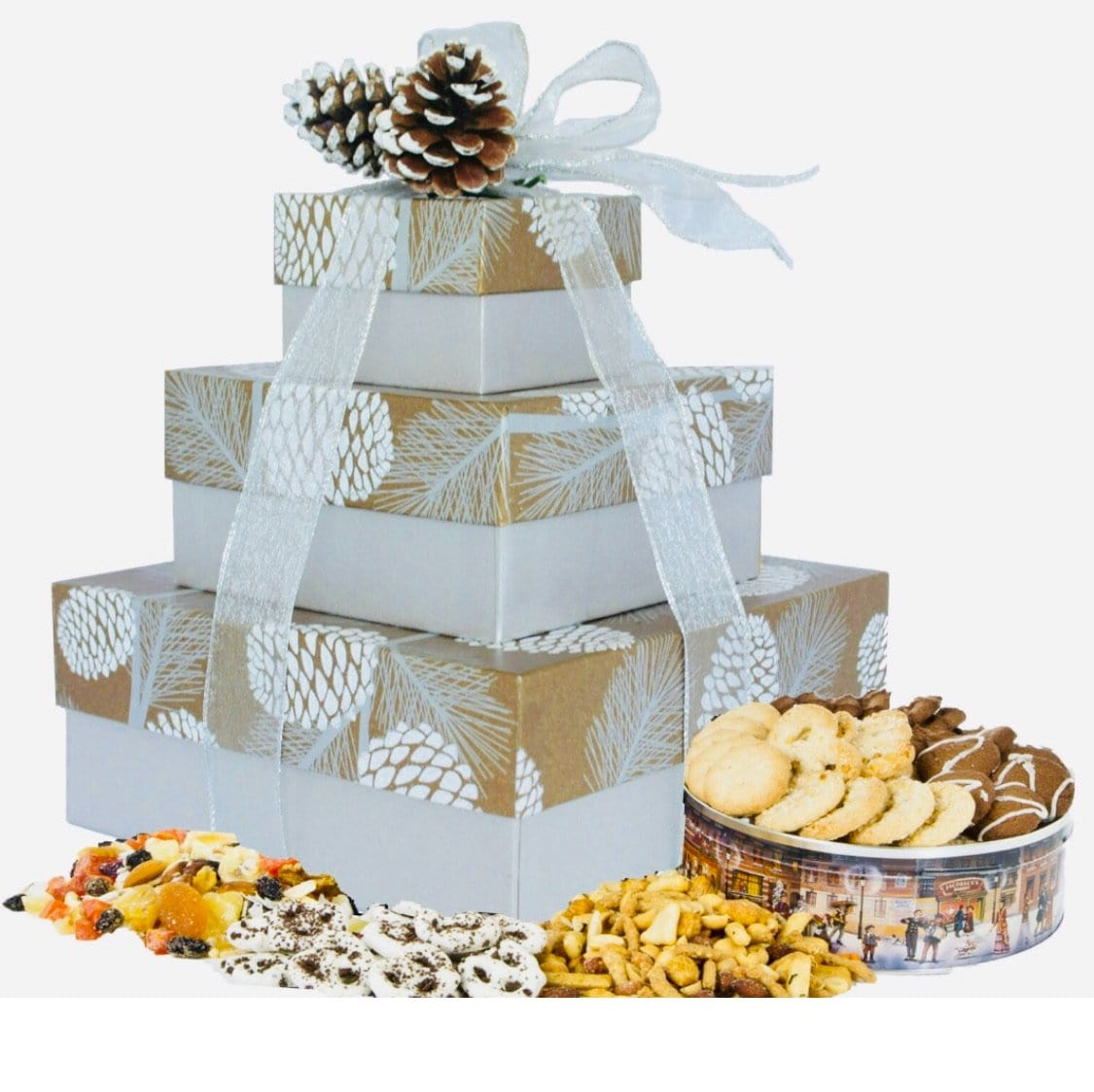 Shimmering Pinecone*New - Gift Baskets By Design SB, Inc.