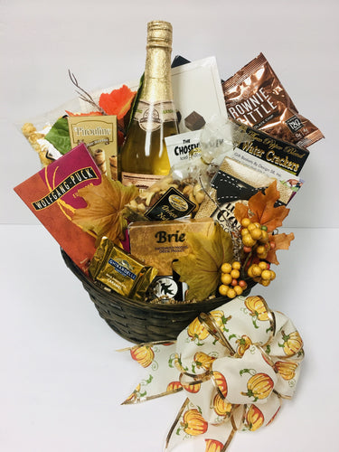 Fall Greeting - Gift Baskets By Design SB, Inc.