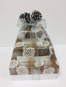 Shimmering Pinecone*New- 2 styles - Gift Baskets By Design SB, Inc.