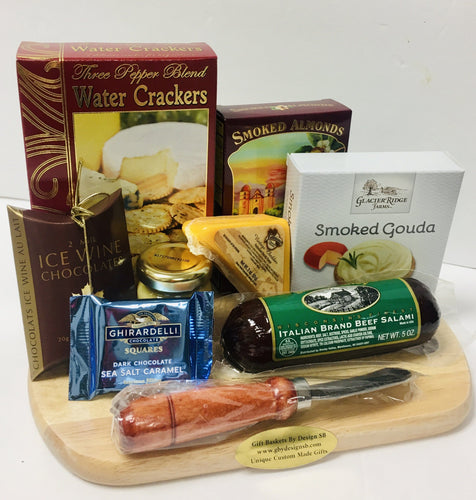 Cheese Board Sampling *New - Gift Baskets By Design SB, Inc.
