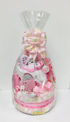 Baby Diaper Cake- 2 Colors - Gift Baskets By Design SB, Inc.