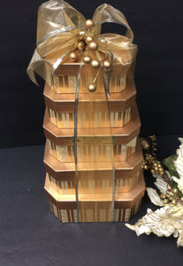 Happy Holiday Tower *New - Gift Baskets By Design SB, Inc.