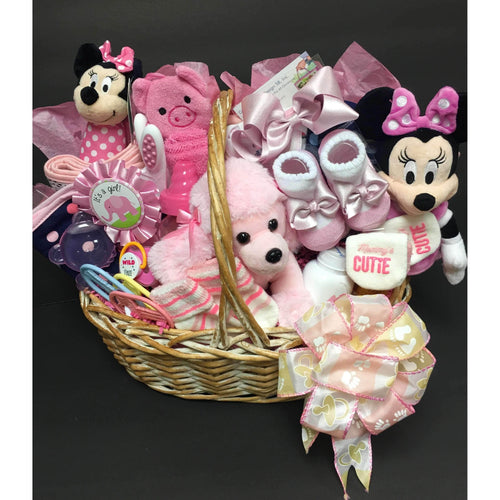 Pretty In Pink Baby-2 Size - Gift Baskets By Design SB, Inc.