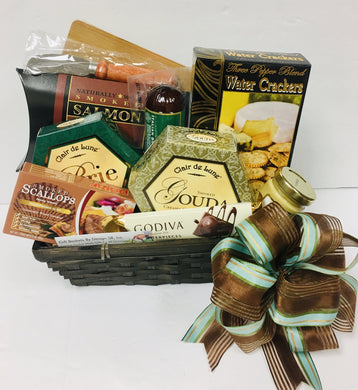 Meat & Cheese Treat-2 Sizes *New - Gift Baskets By Design SB, Inc.
