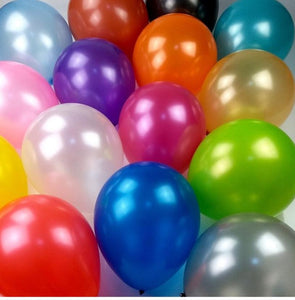 Pearl Latex Balloons- 2 sizes - Gift Baskets By Design SB, Inc.