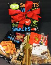 Snack Time -Regular,GF, Vegan,Dairy Free -4 Options - Gift Baskets By Design SB, Inc.