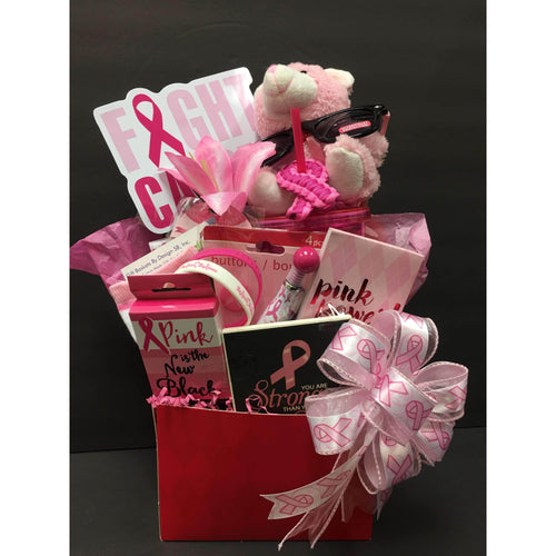 Pretty With Pink - Gift Baskets By Design SB