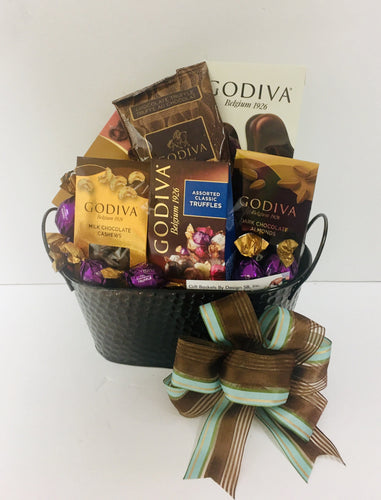 Godiva Christmas *New - Gift Baskets By Design SB, Inc.