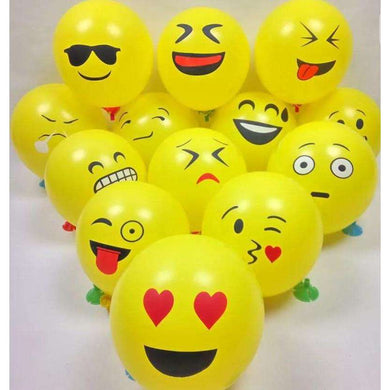 10 Emoji Balloons - Gift Baskets By Design SB
