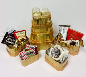 Tower of chocolate *New - Gift Baskets By Design SB, Inc.
