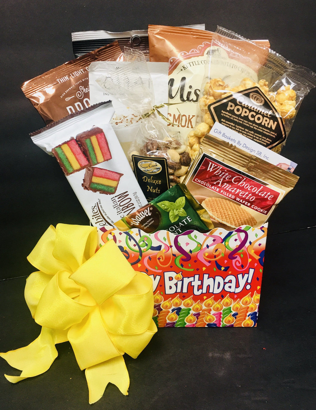 Birthday Celebration-3 Sizes - Gift Baskets By Design SB, Inc.