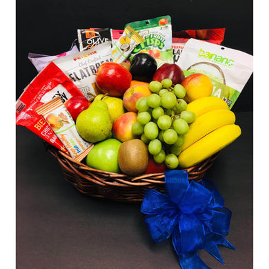 Fruit & Vegan- Gourmet - Gift Baskets By Design SB