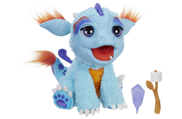 Hasbro FurReal Frr Torch My Blazin Dragon, 4 Years
