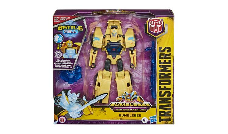 Hasbro Transformers Cyberverse Battle Call Officer Class Asst. - Bumblebee