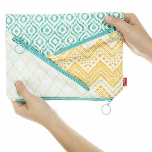 Zipit Quilts Jumbo Pencil Case
