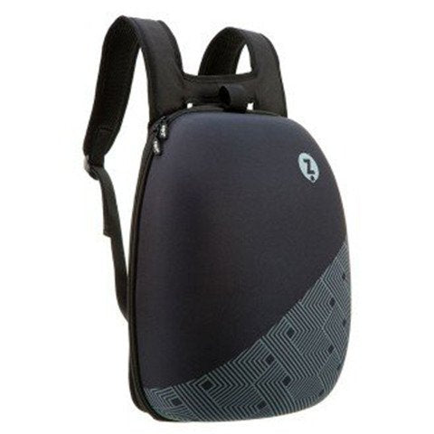 Zipit Shell backpack black with black pattern