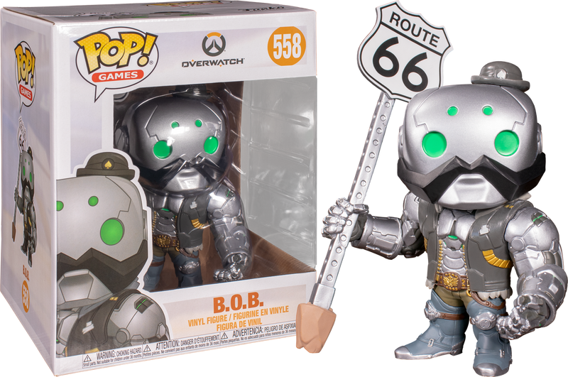 Funko Pop! Games: Overwatch - B.O.B 6""