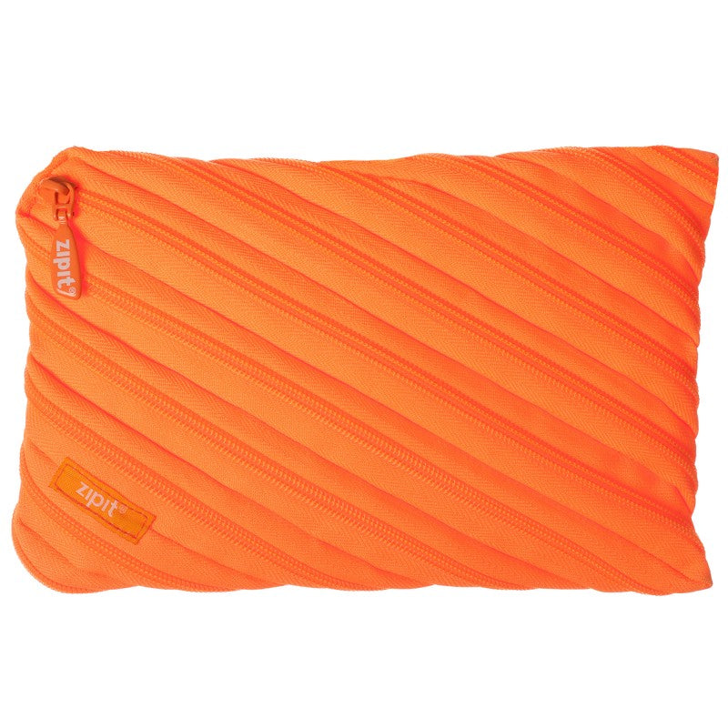Zipit Ztj-nn-co Neon Jumbo Pencil Case - Orange