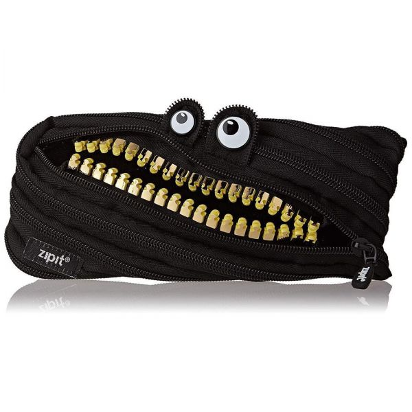 Zipit ZTM-GR-Mb Grillz Monster Pouch, Brown