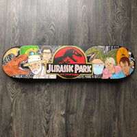 SOLD! (Email me for a custom Deck) Jurassic Park - Custom Skate Deck