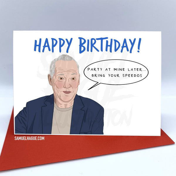 Michael Barrymore - Birthday Card