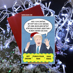 Boris Johnson's Coronavirus Update - Christmas Card