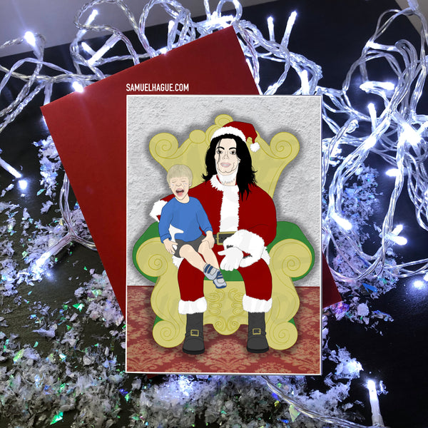 Michael Jackson - Christmas Card