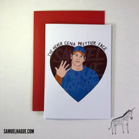 John Cena - Valentine's Day Card