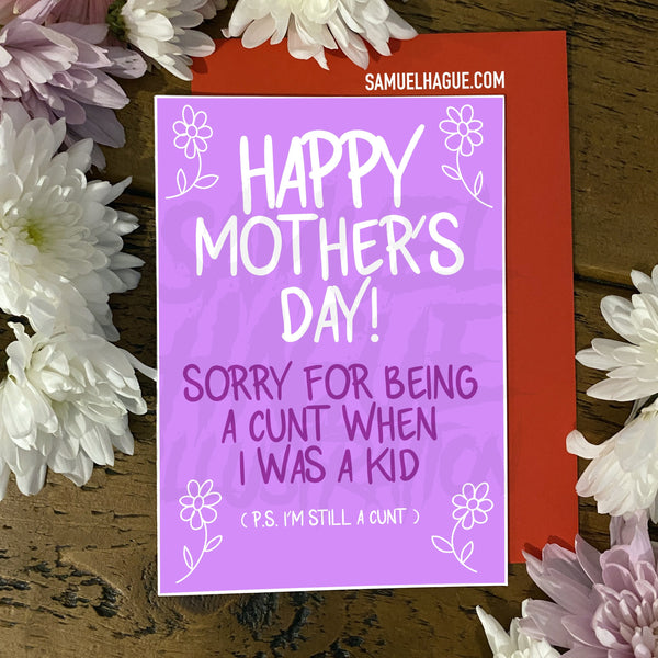 C*NT - Mother's Day Card