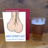 Balls - Father's Day Card