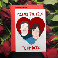 Fred and Rose - Valentine's Day Card